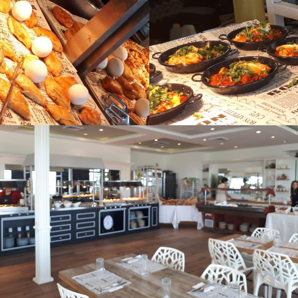 Aquaduct Hotel, Israeli Breakfast, Western Galilee