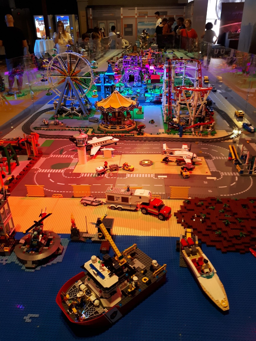 Sean Kenney Lego Exhibition Tel-Aviv Port
