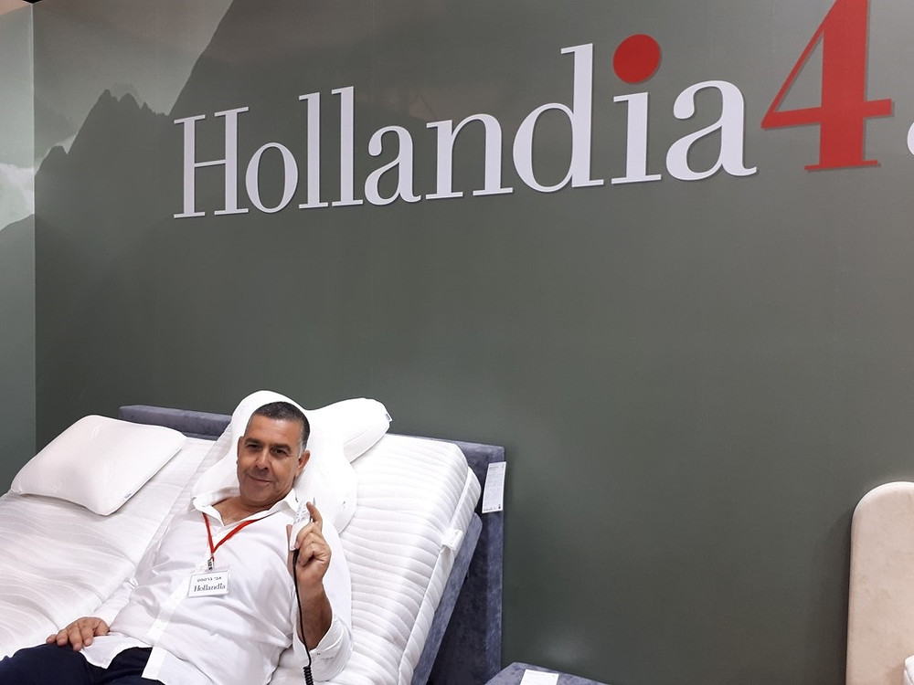 New Home Exhibition 2018 Hollandia CEO Avi Barseset