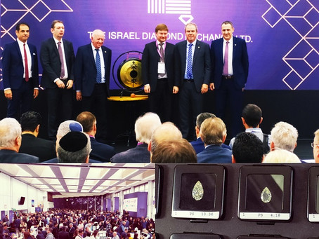 Ramat-Gan: Opening of the International Diamond Week in Israel