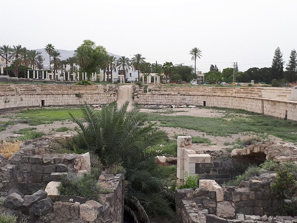 Beit She'an Hippodrome Amphitheater