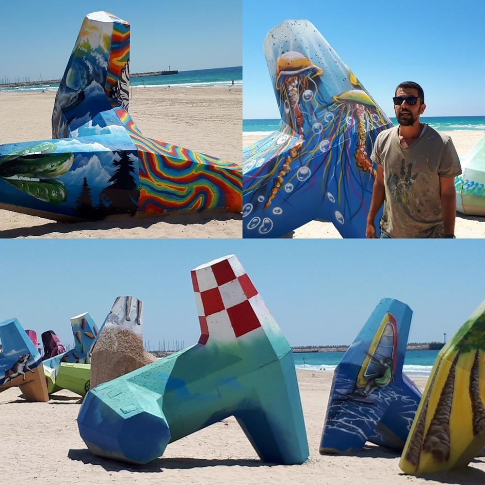 Ashdod Beach Sculptures