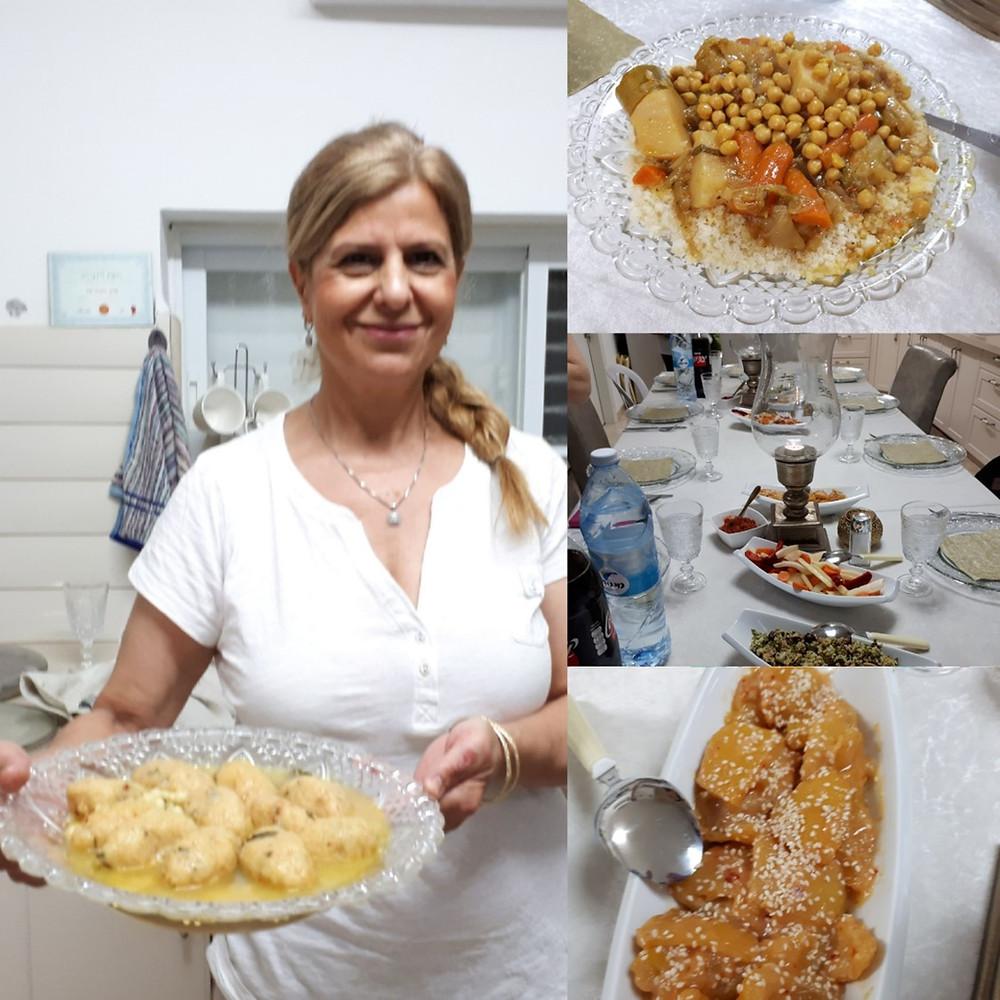 Beit She'an Michal's Tunisian Food