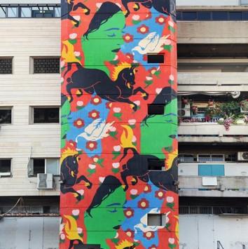 Jerusalem: The International Walls Festival 2018