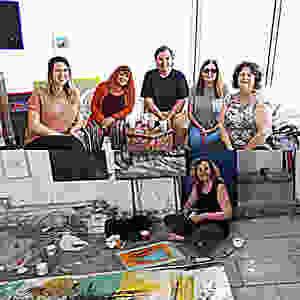 "ArtisTTable Workshop Participants ""Finding Expressionism"" Jaffa"