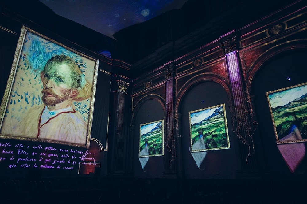 Holon: The Van Gogh International Exhibition is Reopening