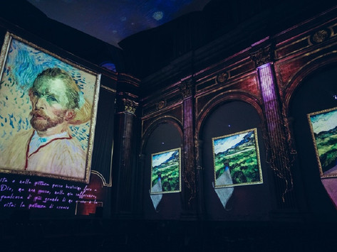 Holon: The International Van Gogh Exhibition is Reopening