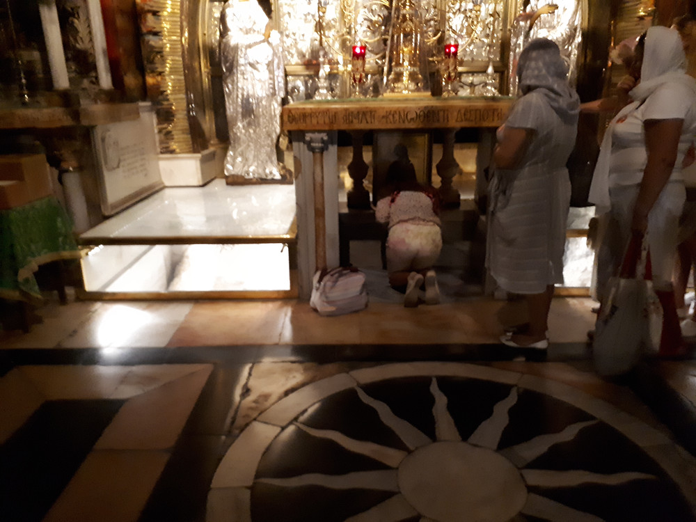 Calvary or Golgotha, The Church of the Holy Sepulchre, Jerusalem
