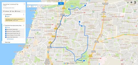 RamatGan A Homage To My Hometown For Tu Bishvat Travel Blog - Ramat gan map