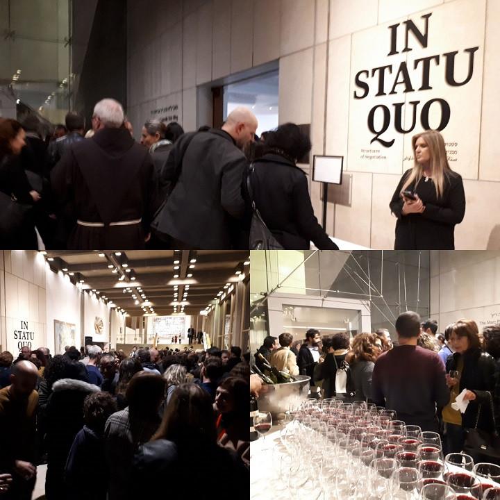 Tel-Aviv Museum of Art: In Status Quo - Structures of Negotiation Opening