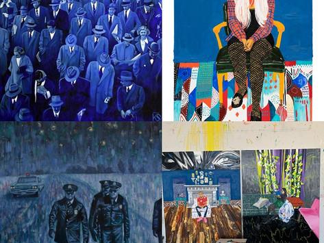 Nassima-Landau: Two Solo Spring Exhibitions
