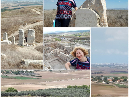 A Change of Scenery from Tel-Aviv to Tel-Gezer and Ramla
