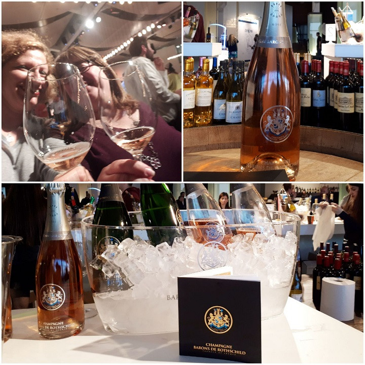 KFWE 2019 Champagne Baron De Rothschild Rose