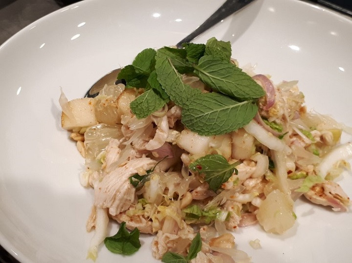 THAI SALAD WITH PEARS AND CHICKEN by Hagai Lerner