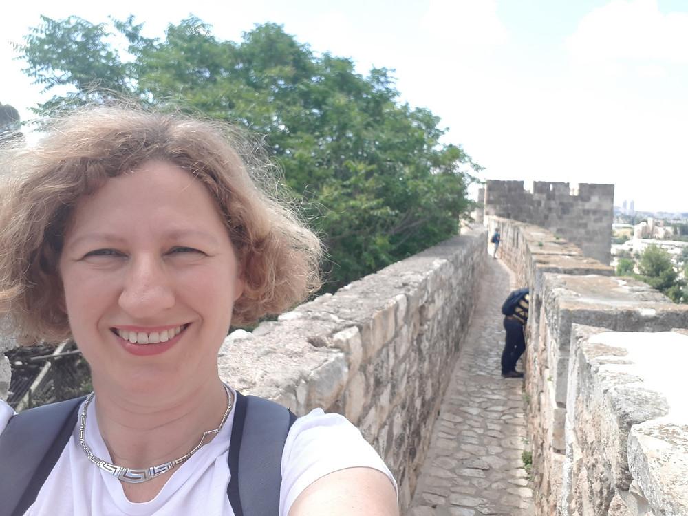 Jerusalem Old City Wall Ramparts Promenade