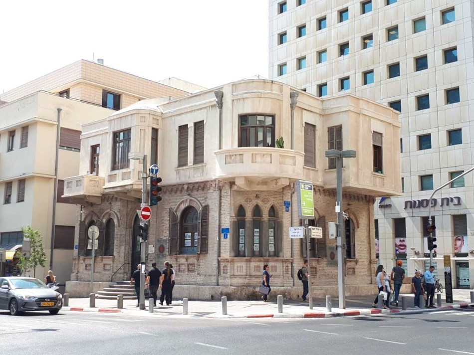 Tel-Aviv Independence Trail Akiva Aryeh Weiss House