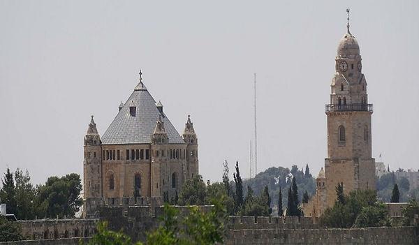 נוף הדורמציון מכוון שער יפו Shlomi Illhi