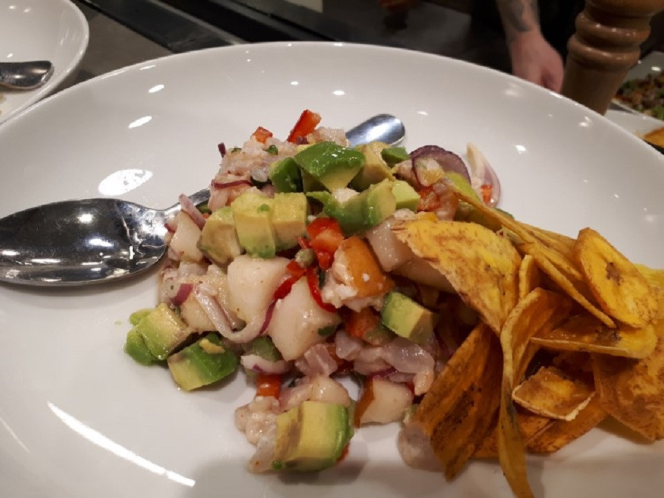 CEVICHE SEA FISH WITH ANJOU PEARS AND AVOCADO by Chef Hagai Lerner