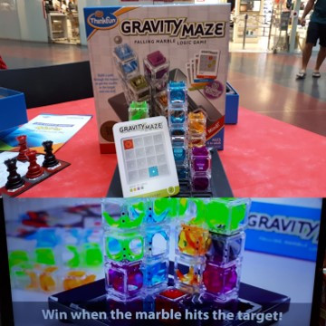Gravity Maze, Thinkfun and Puzzleland