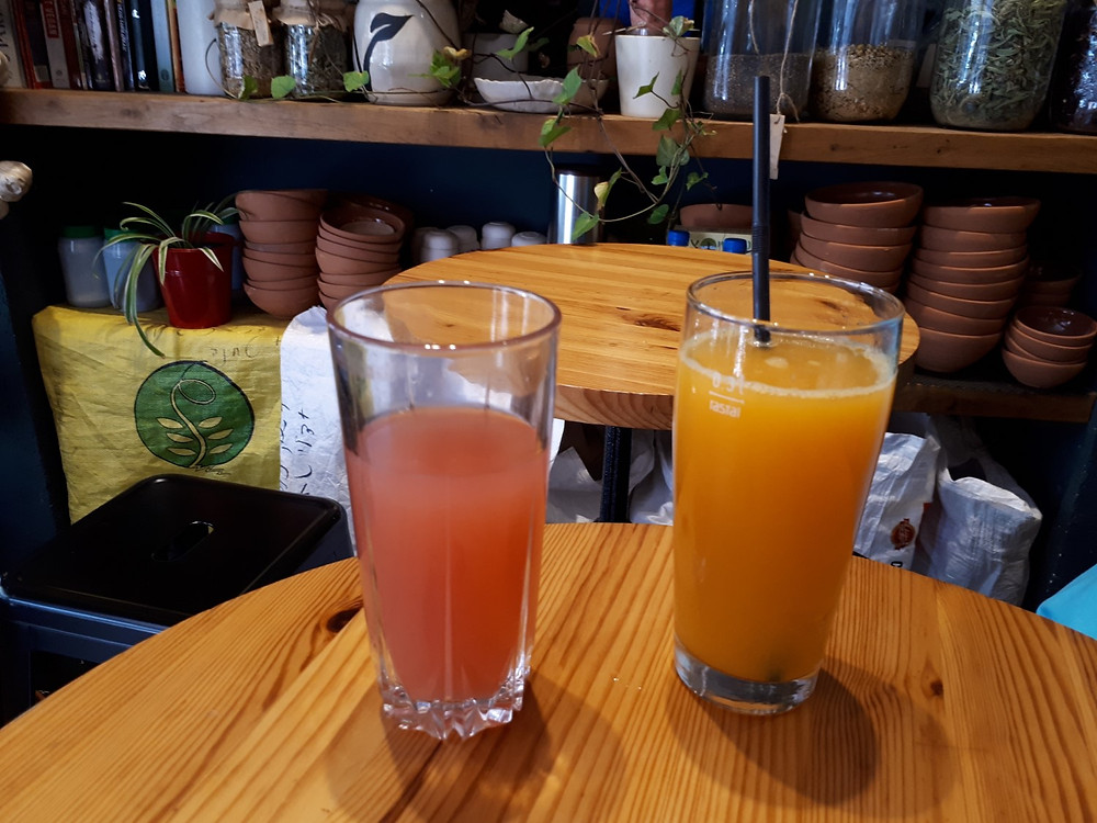 'Herzog' Vegan Restaurant Tel-Aviv, Hibiscus Lemonade