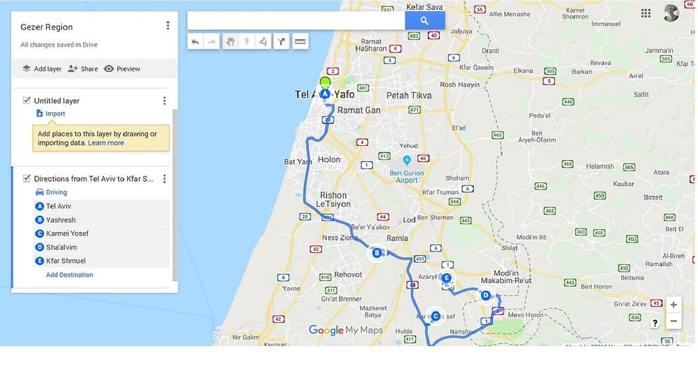 Gezer: Hosting for the Beaujolais Half Marathon and After