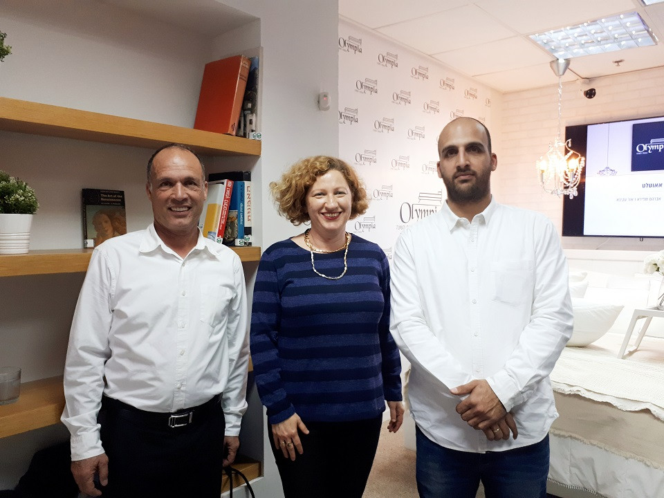 Olympia Owners in New Concept Store Kfar Saba