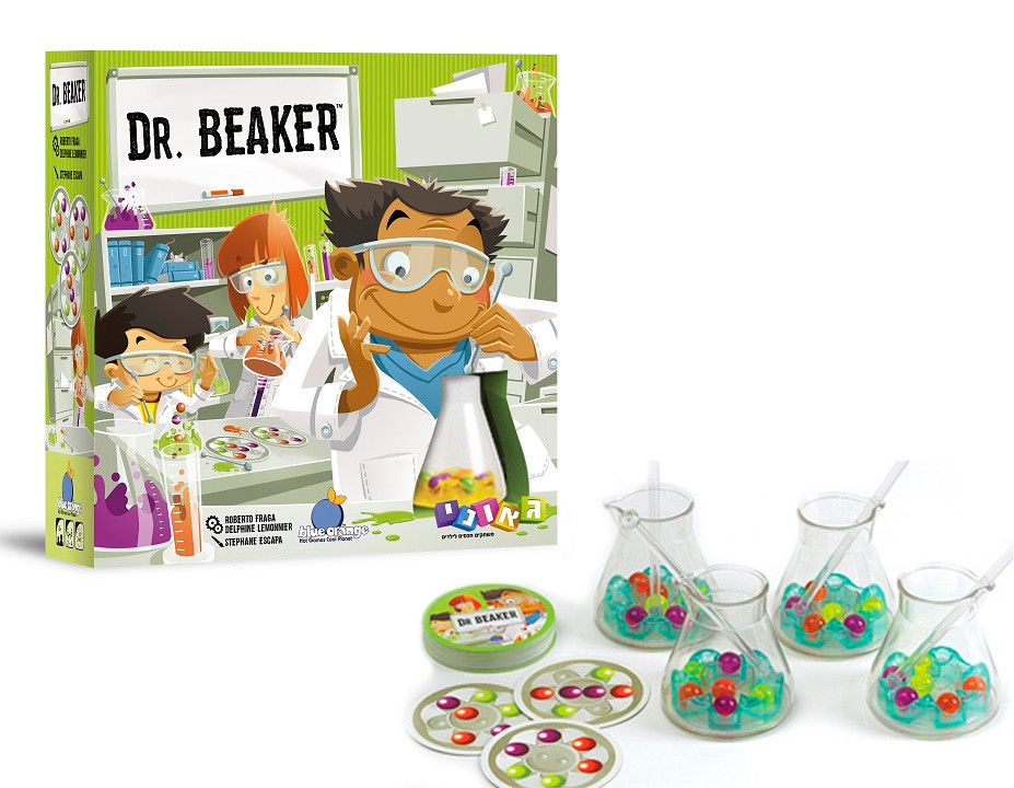 Geoni Games: Launching Dr. Beaker