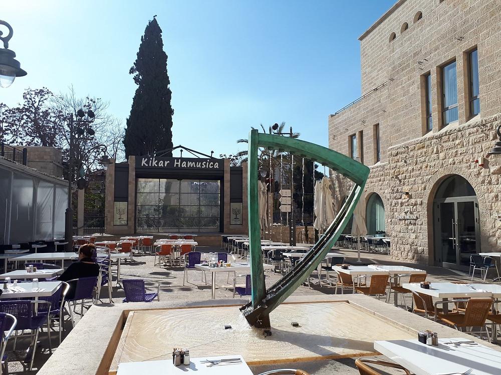 Kikar HaMusica, Bitemojo Food Tour, Jerusalem