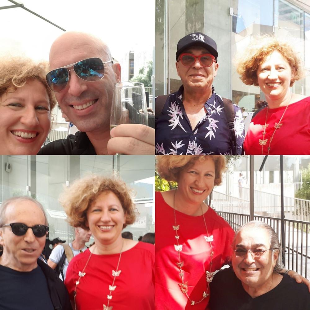 Tel-Aviv Piano Festival 2018, Gil Shohat, Rami Fortis, Danny Sanderson and Boaz Sharabi