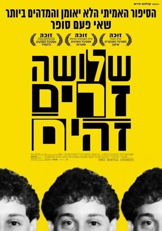 Three Identical Strangers New Cinema Poster