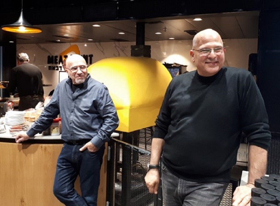 Meat Point Owners Reuven Bar and Tamir Aniv