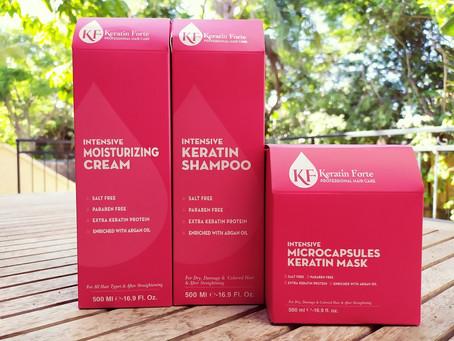 Joya Cosmetics: The KERATIN FORTE Hair Product Series