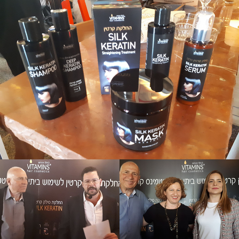 Silk Keratin Launch by Vitamins