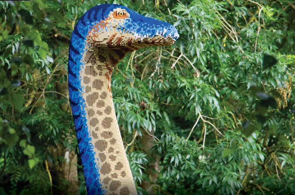 Eilat: Hosting the International Lego Exhibition 'Dinosaur Kingdom'