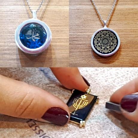 Nano Jewelry, Religious