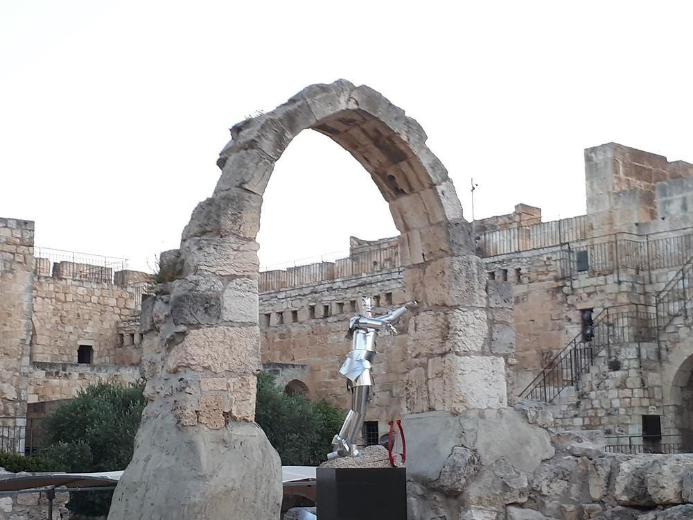 Karen Sargsyan Tin Man, Tower of David, Jerusalem