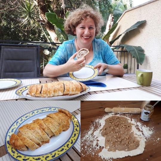 Achva Tahini Cake