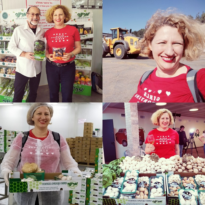 Marina: A 30 Year Anniversary of the Largest Mushroom Grower in Israel