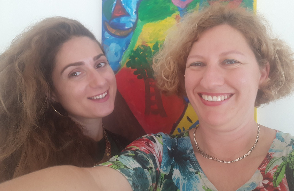 Orly Dvir and Talma Gotteiner, Orly Dvir Gallery Jaffa
