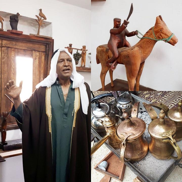 "Beduin Heritage at ""Olam SheNe'elam"" at Bosmat Tivon"