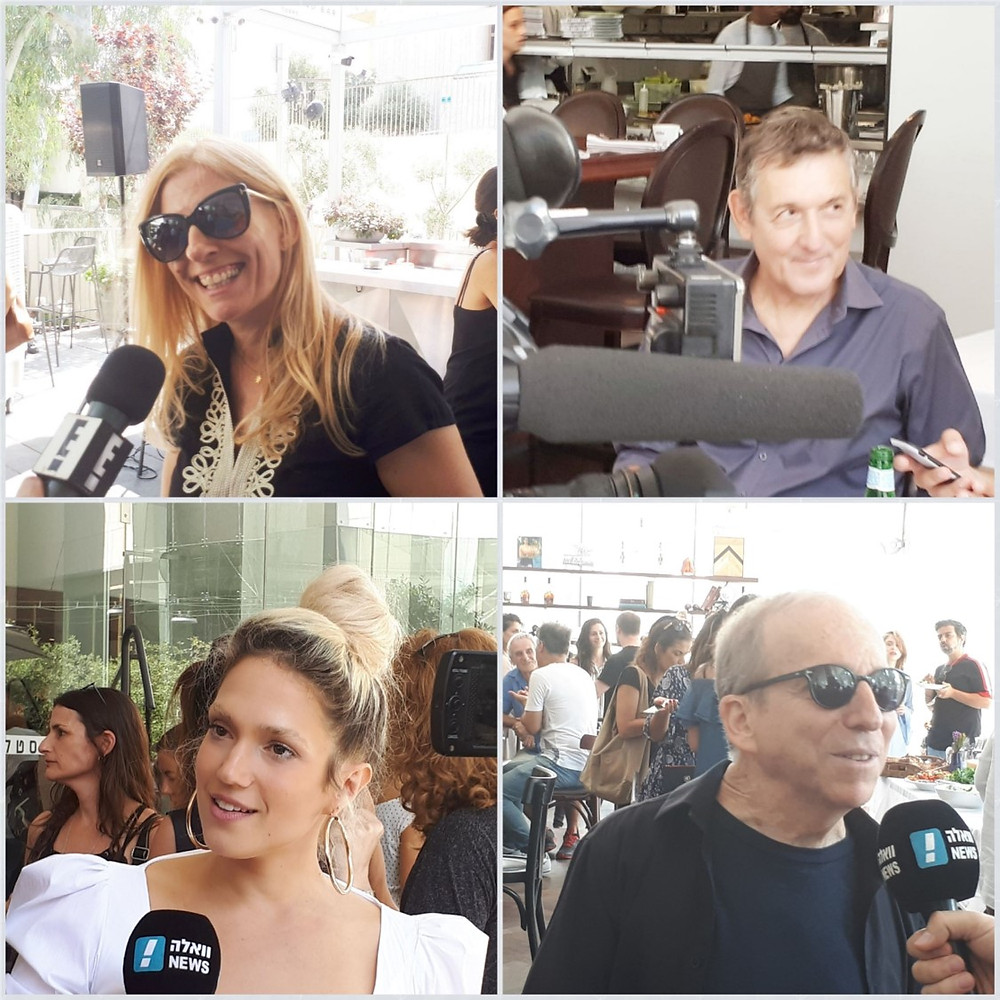 Tel-Aviv Piano Festival 2018, Dana Berger, Yoni Rechter, Danny Sanderson and Marina Maximilian