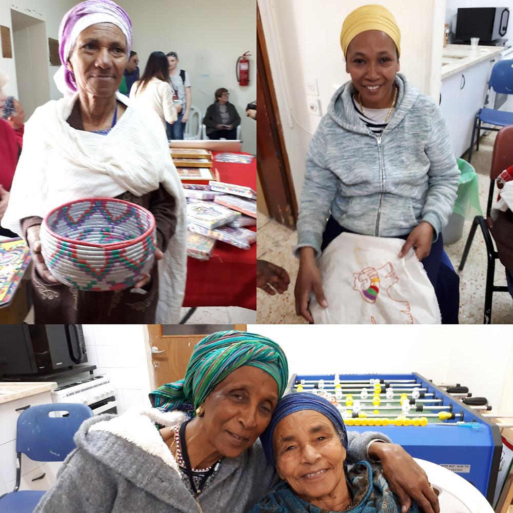 'Rokmot' The Local Ethiopian Embroidery Club Sderot