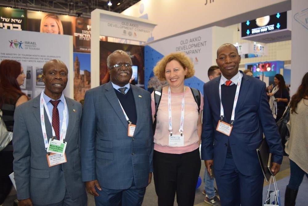IMTM 2018 with Angola Embassy Representatives