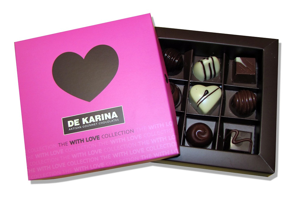 'De Karina' Praline 'With Love' Collection