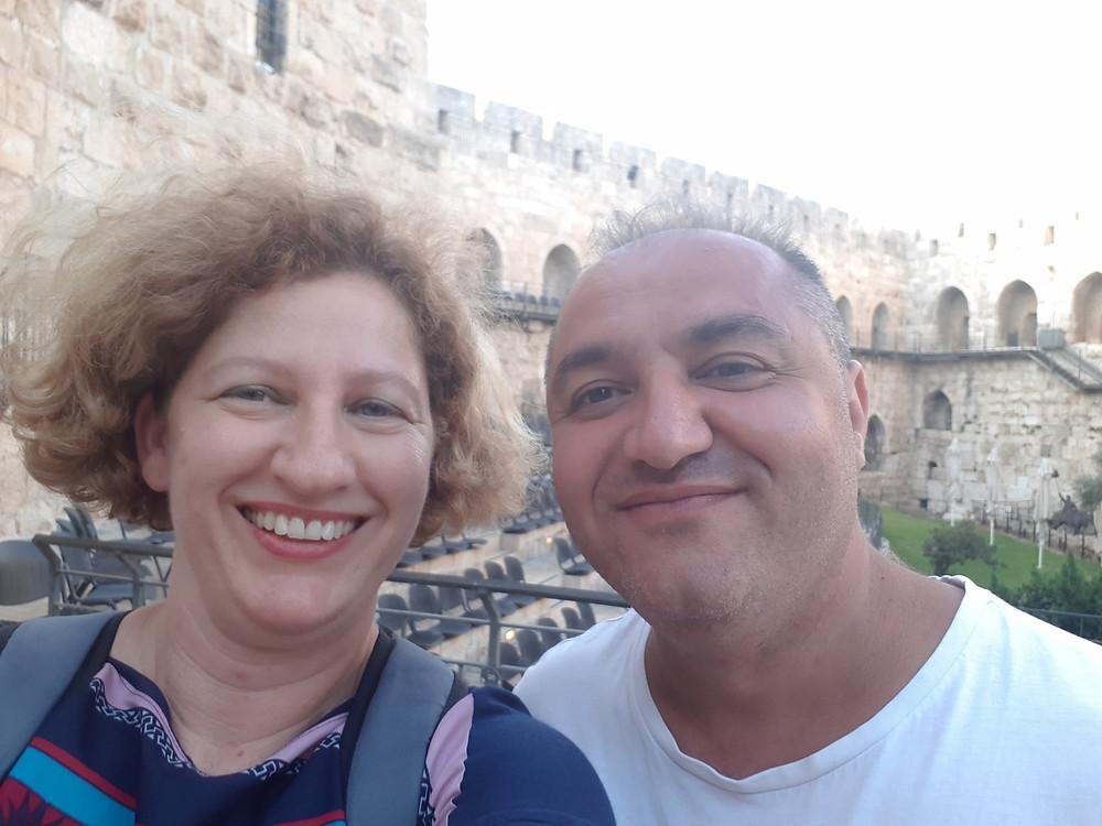 Talma Gotteiner and Karen Sargsyan
