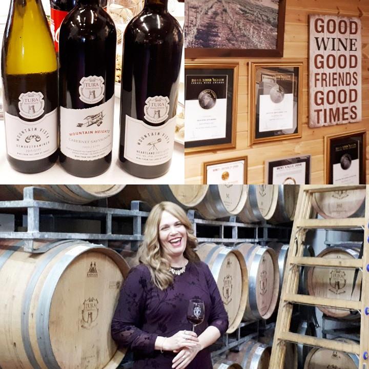 Grizim and Tura Winery's Gewurztraminer