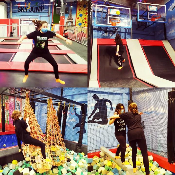 Sky Jump Trampoline Parks: Kids at Work