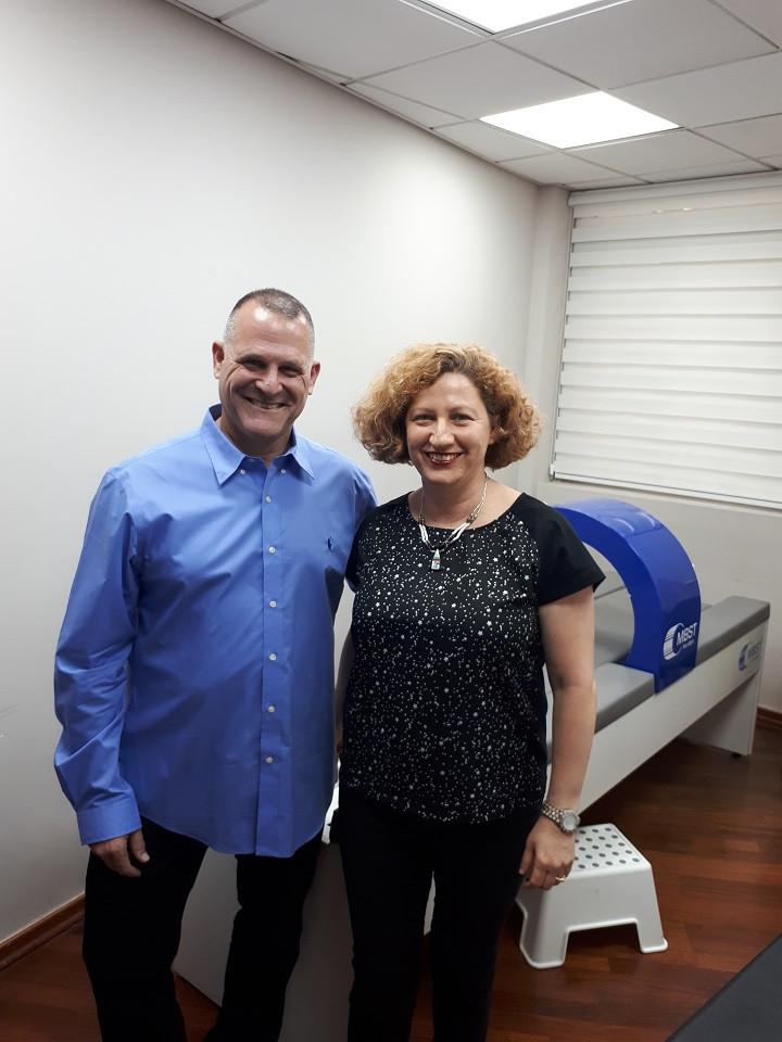 With Dr. Shmulik Itzchak, MedTec Israel