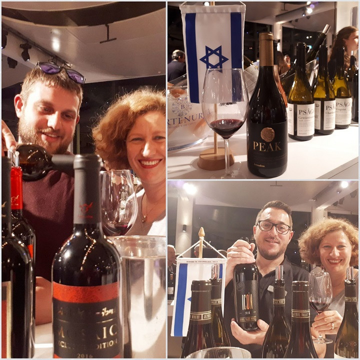 KFWE 2019 Israeli Wines Shilo, Psagot and Jezreel Valley Wineries