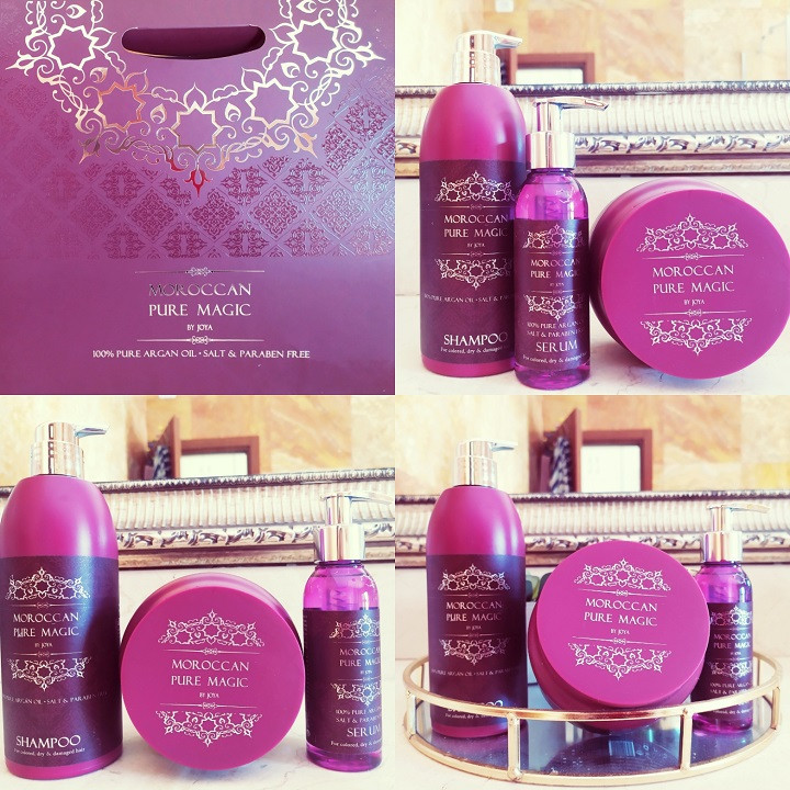 Joya Cosmetics: The MOROCCAN PURE MAGIC Hair Product Series